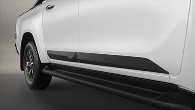 Body Side Moulding (Matte Black)