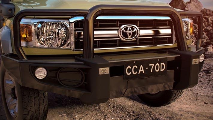 Llewellyn Toyota - LandCruiser 70