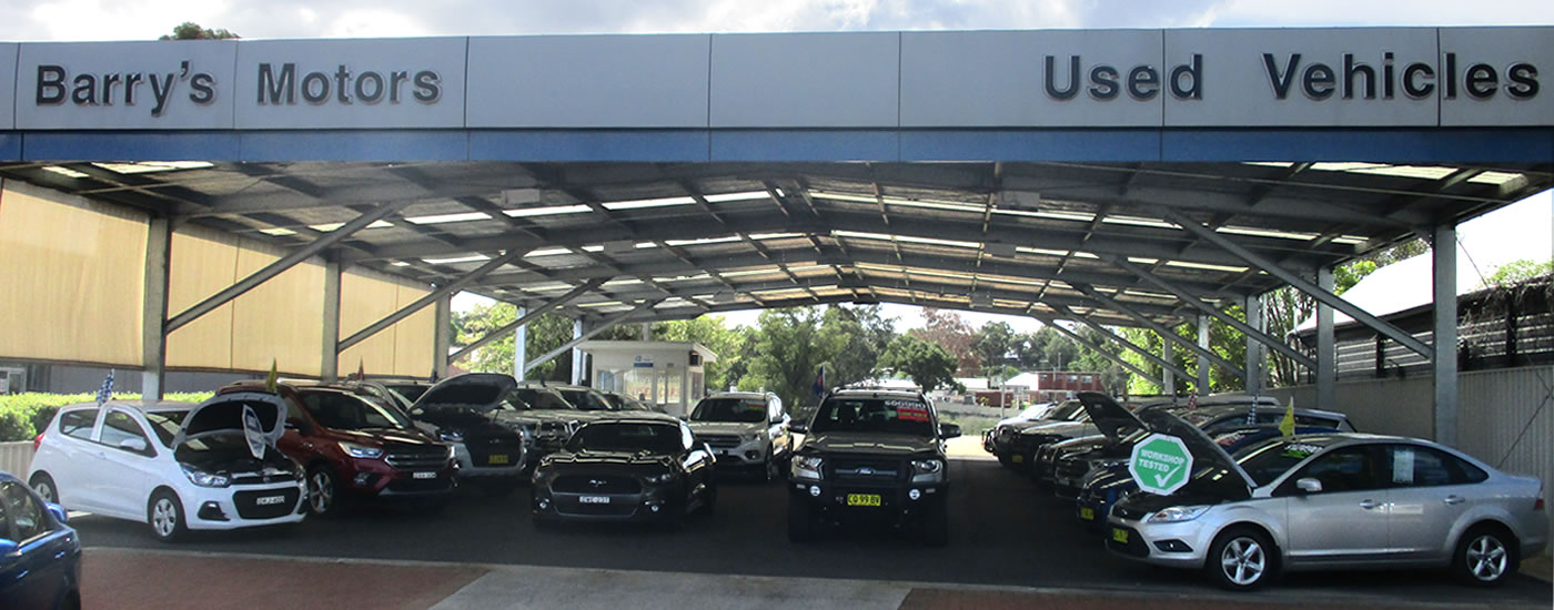 Used Cars Inverell | Barry's Motors