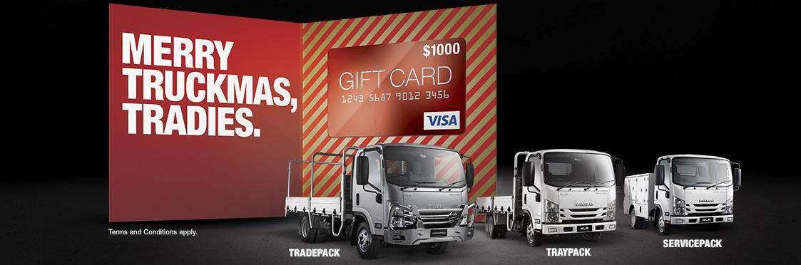 Isuzu Trucks - Merry Truckmas