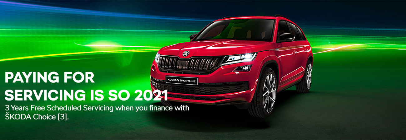 Paying for Servicing is so 2021 - SKODA