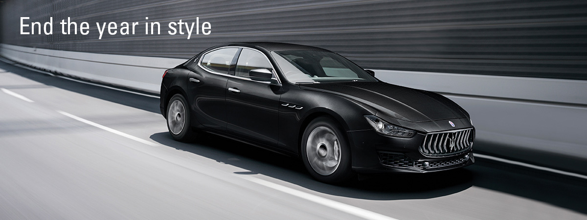 Maserati - End the year in style