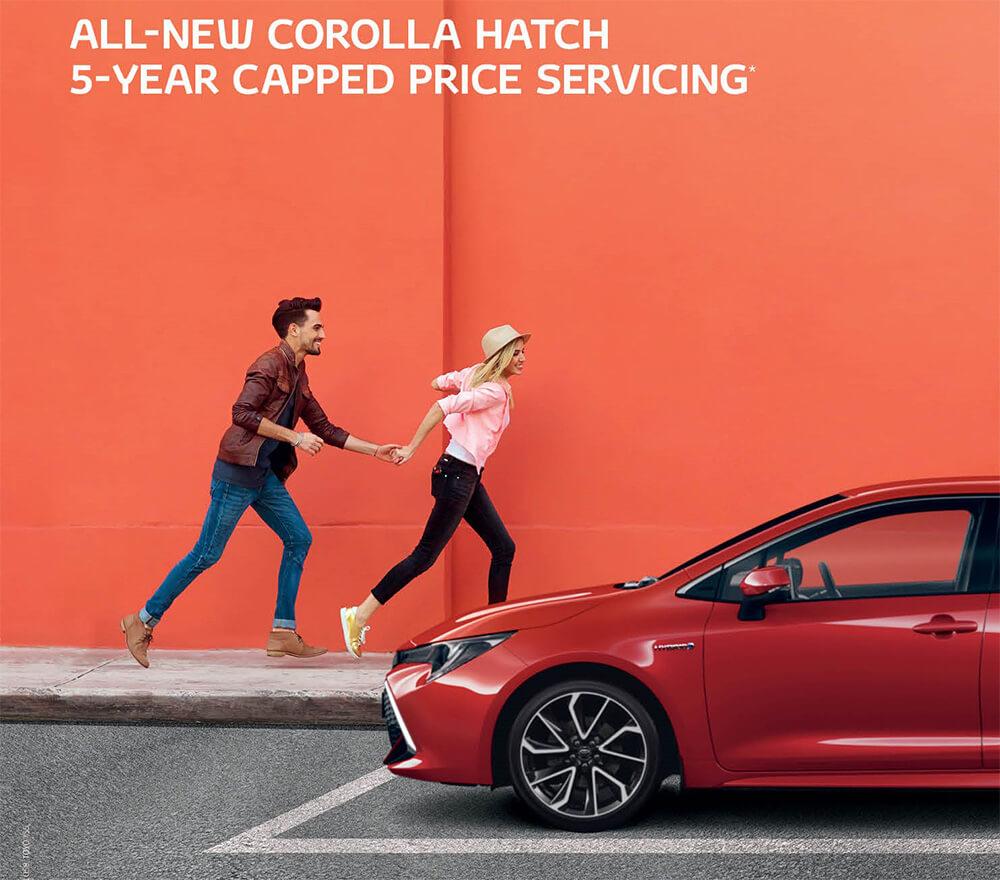 Waverley Toyota Corolla 5 Year Service Offer