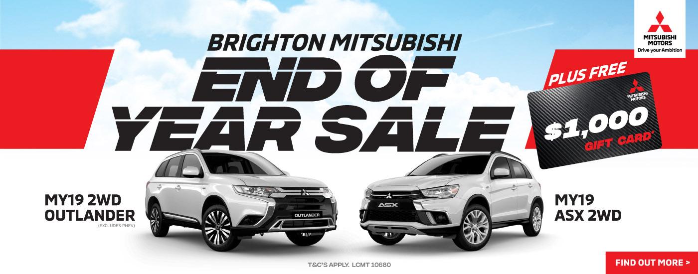 Brighton Mitsubishi Gift Card Offer