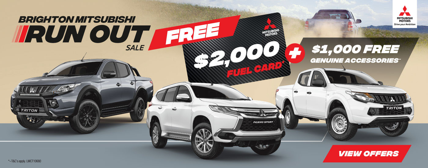 Mitsubishi Fuel Card Offer