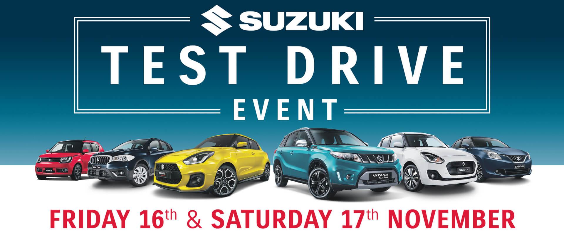 Suzuki Test Drive Event