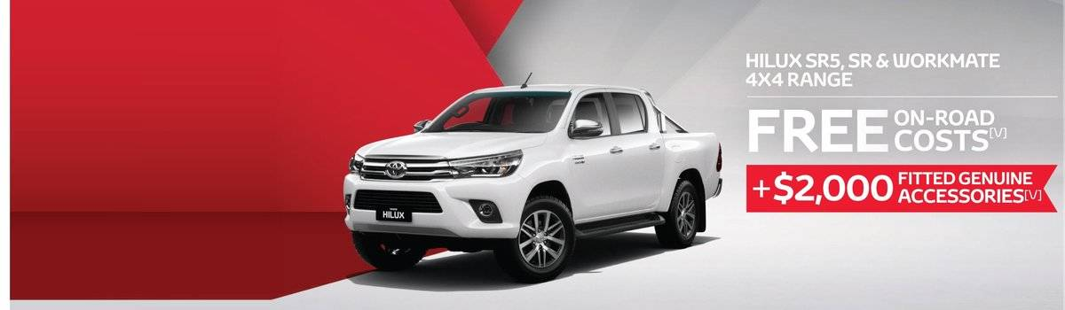 Waverley Toyota's EOFY Sale on HiLux 4x4 Large Image