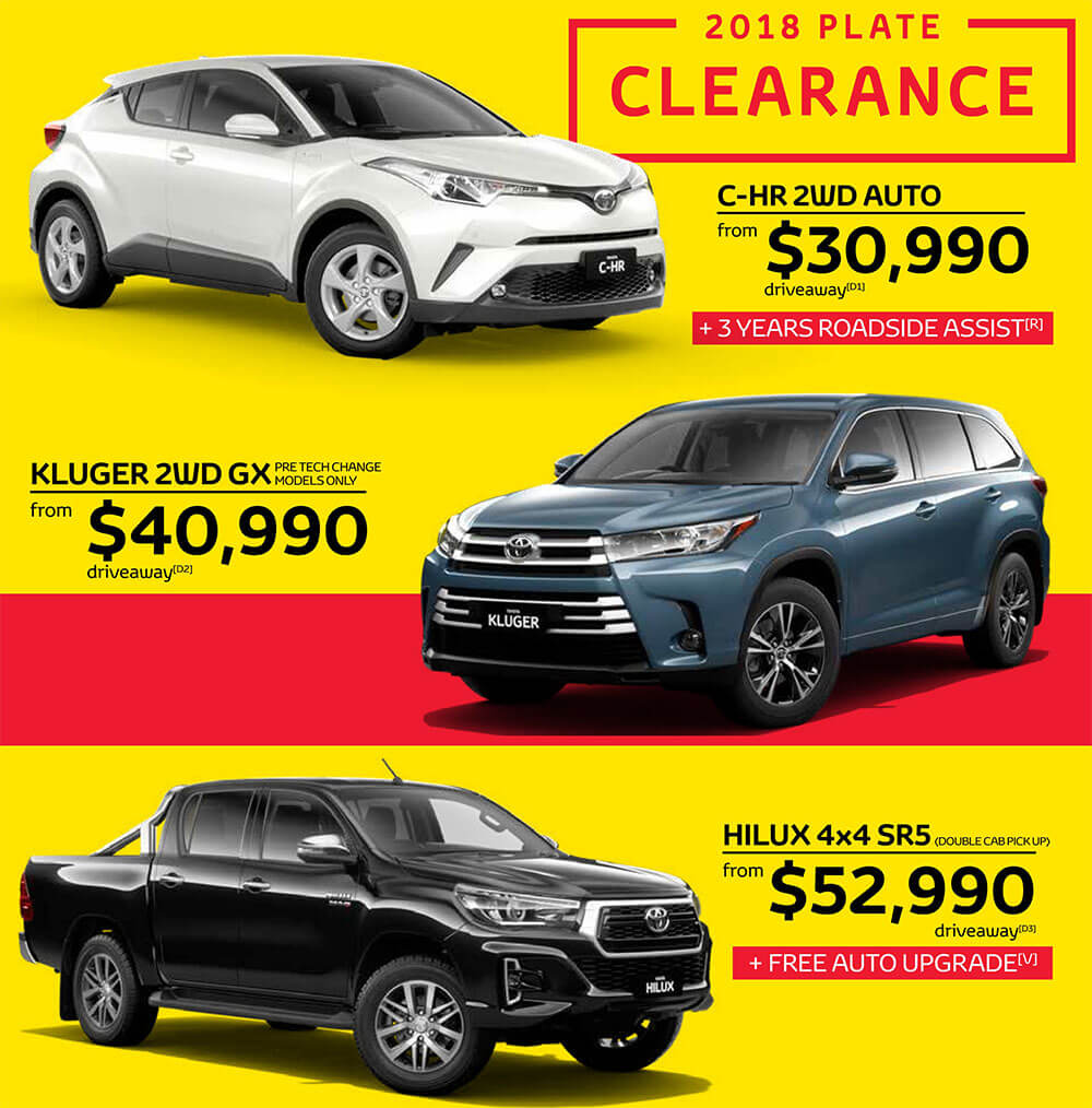Waverley Toyota Special Offers