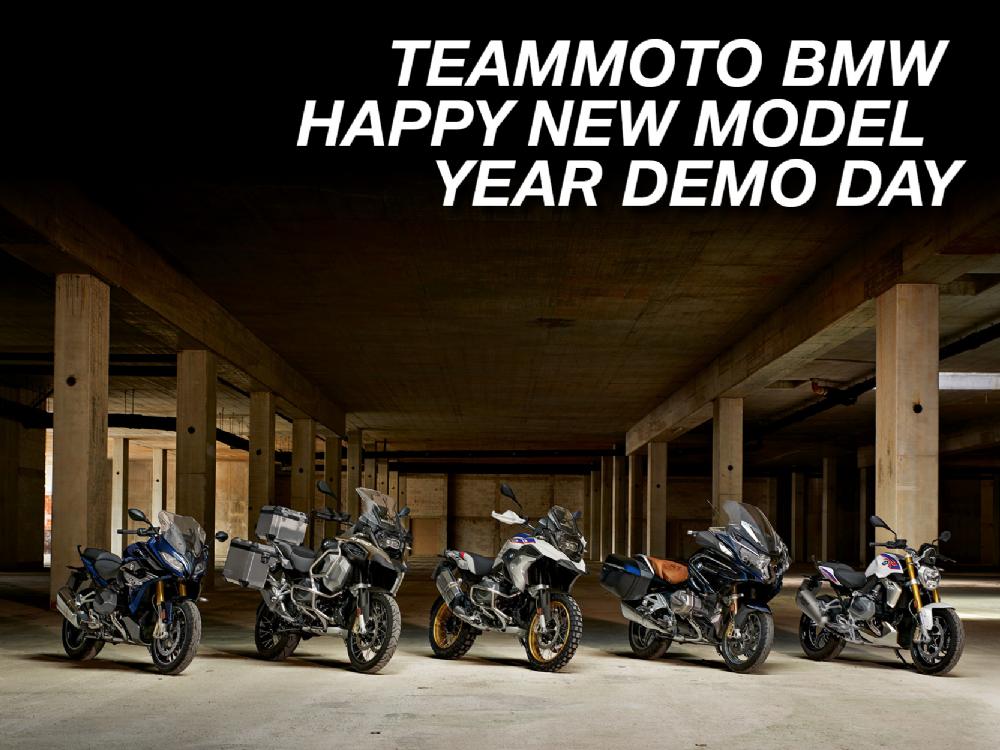 teammoto bmw demo day happy new model year 2019