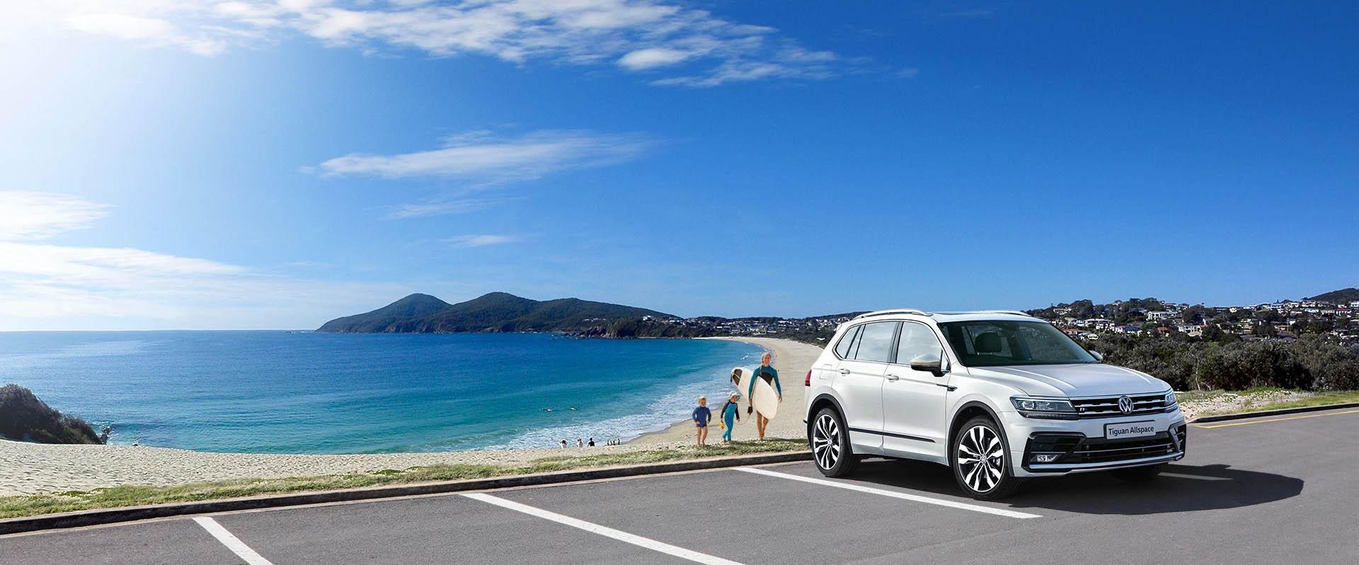 Volkswagen-The new 7-seat Tiguan Allspace