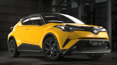 GET YOUR C-HR READY FOR ACTION <sup>[P4]</sup>