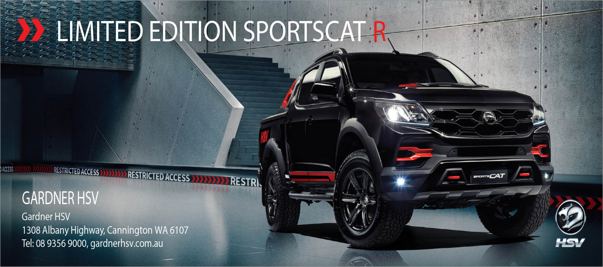 Limited Edition Sportscat R