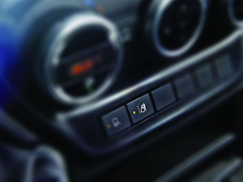 New Daily Cab - Lane departure warning system button
