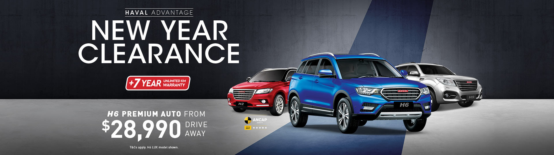 HAVAL New Year Clearance