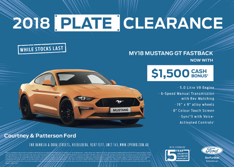 Courtney & Patterson Ford Offers - Courtney & Patterson Ford