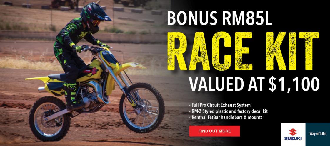 SUZUKI - RM85L Race Kit