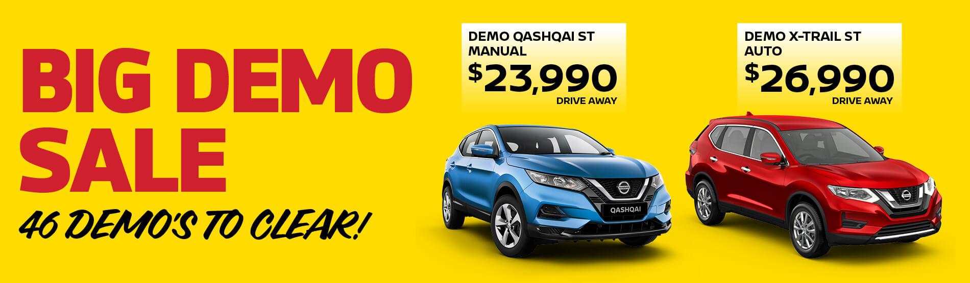 Big Demo Sale - Parry North Queensland Nissan
