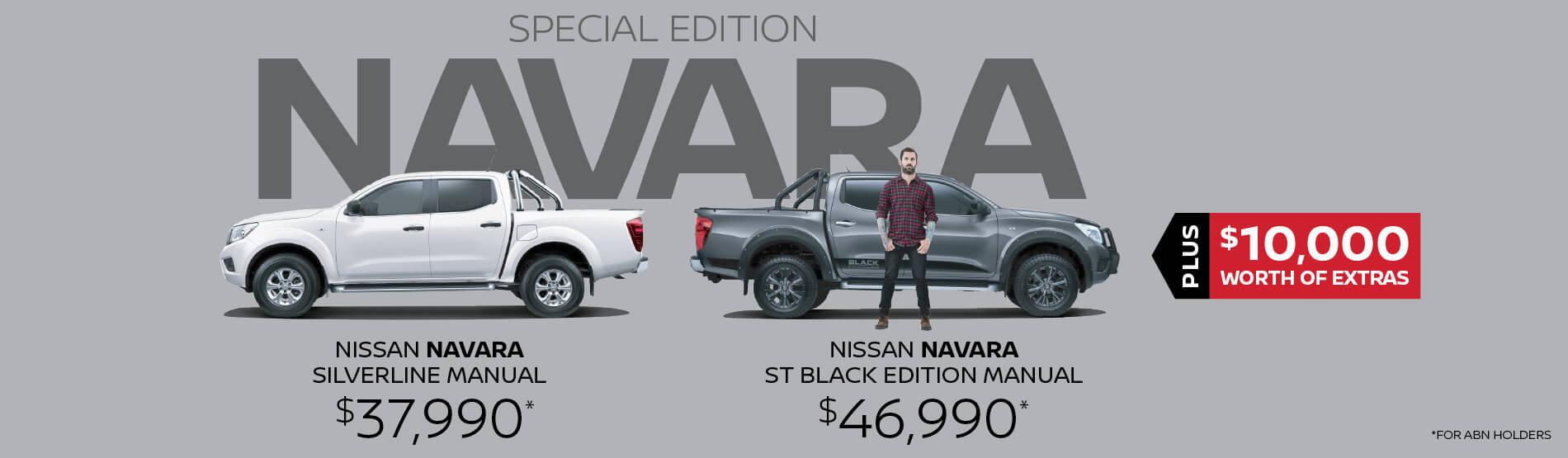 Special Navara - Parry North Queensland Nissan