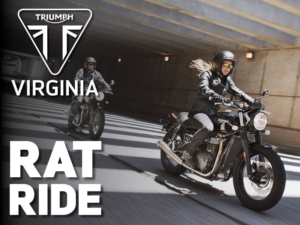 TeamMoto Virginia: Triumph Rat Ride