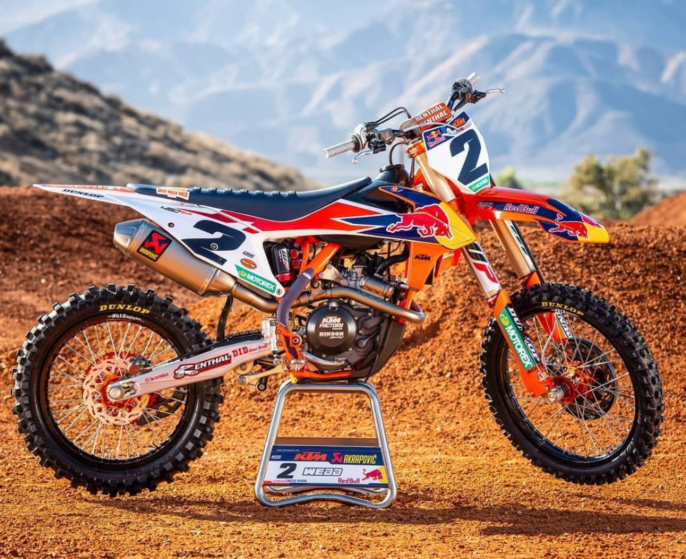 2019 KTM 450 SX-F FACTORY EDITION IS UNVEILED
