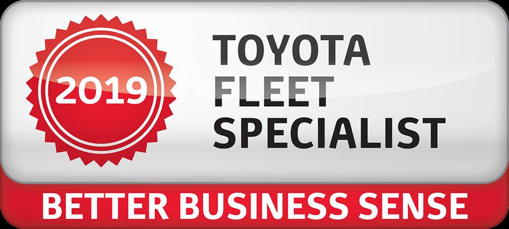 2019 Toyota Fleet Specialist