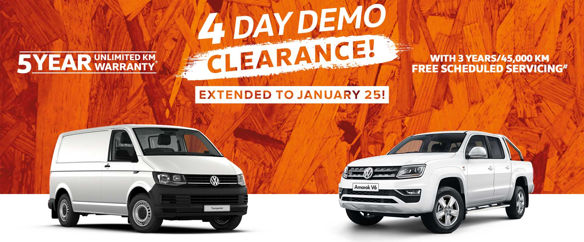 Volkswagen-4 Day Demo Clearance