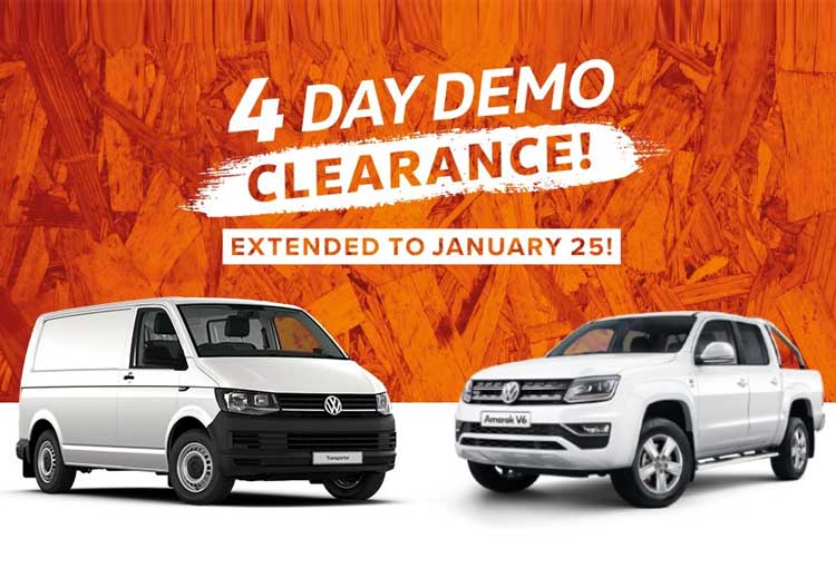 Volkswagen 4 Day Demo Clearance - Test drive now at South Yarra Volkswagen