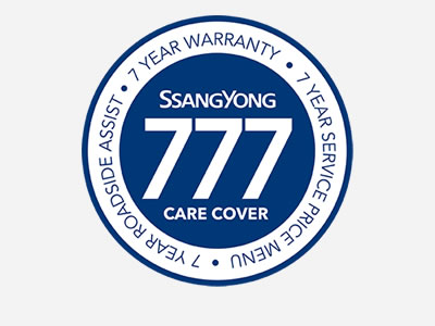 At Brian Hilton SsangYong, you will be given peace of mind with a full 7-year, unlimited km, bumper to bumper warranty.