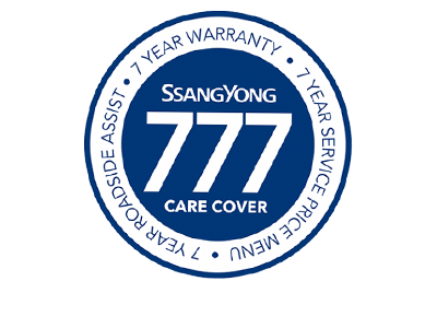 At Starkey SsangYong, you will be given peace of mind with a full 7-year, unlimited km, bumper to bumper warranty.