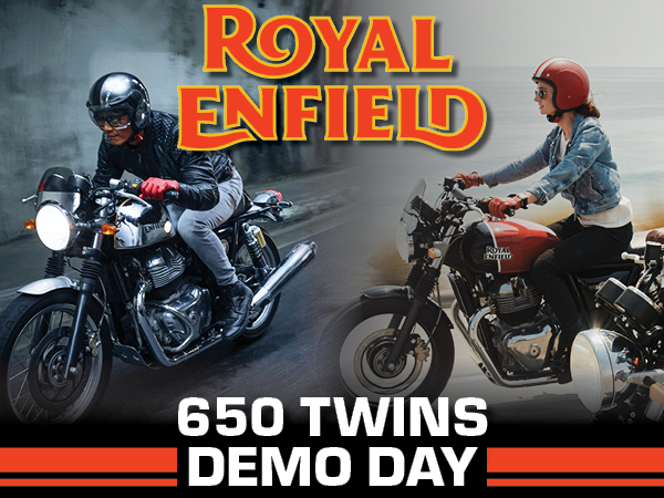 TeamMoto Springwood Royal Enfield - 650 Twins Demo Day
