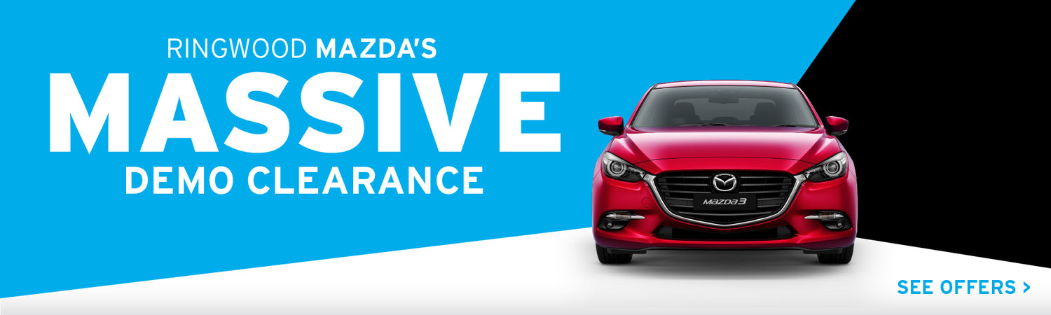 Ringwood Mazda - Massive Demo Clearance