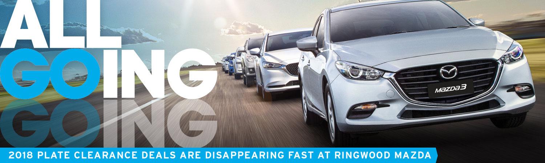 Ringwood Mazda - 2018 Plate Clearance