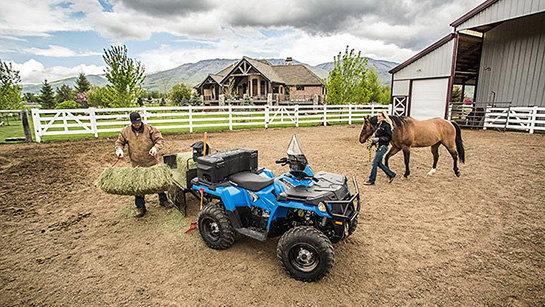 Polaris-FARMHAND 450 HD