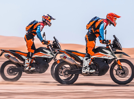 KTM's Exciting All -New 790 Adventure Models