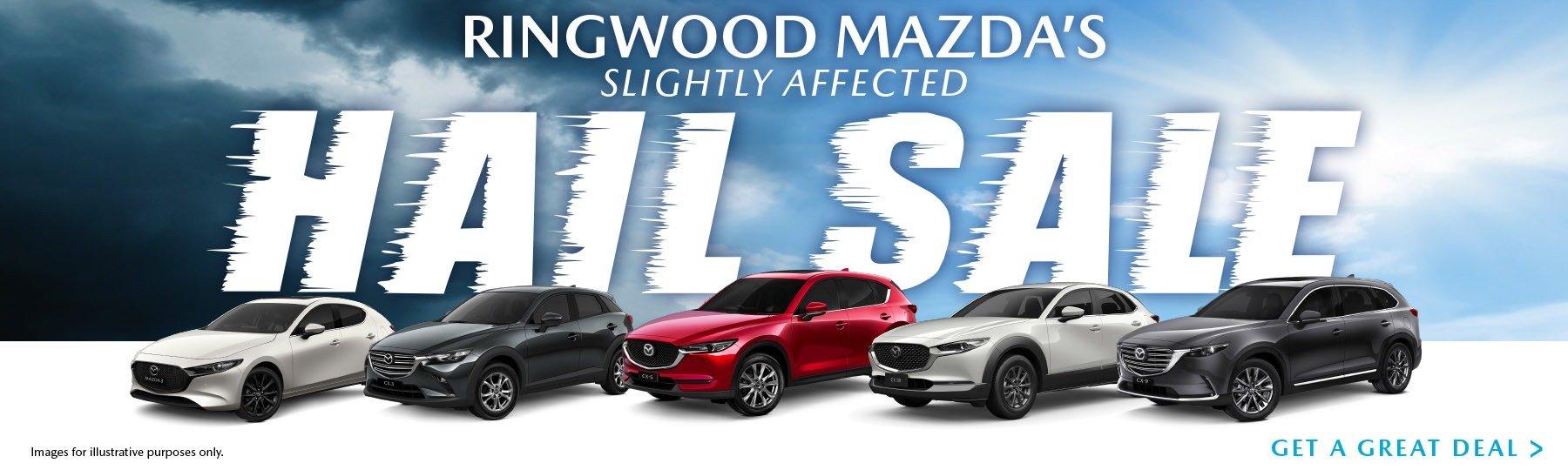 Ringwood Mazda Hail Sale