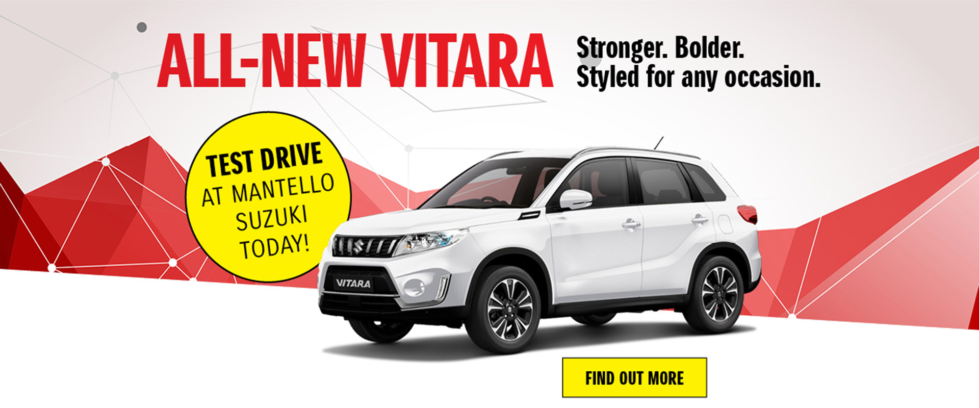 Mantello Suzuki - All-New Vitara