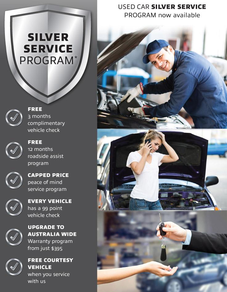 Silver Service Program
