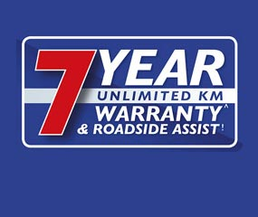 7 Year Unlimited Warranty