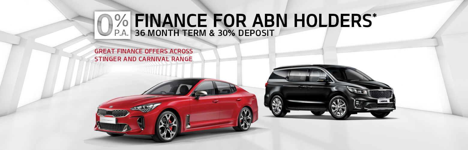 0% Finance for ABN Holders
