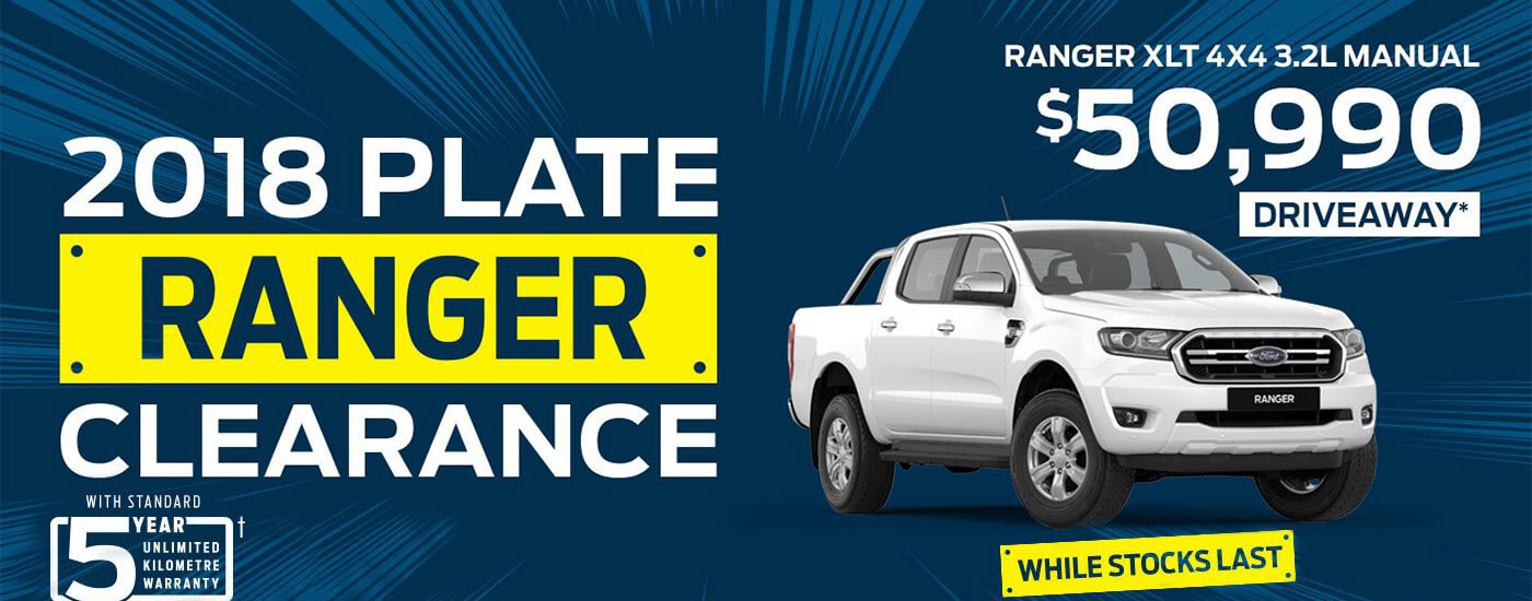 Ford Ranger Clearance