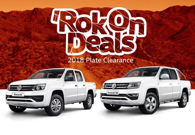 RokOn Deals on selected Volkswagen commercial vehicles.