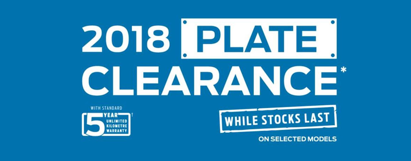Etheridge Ford - 2018 Plate Clearance