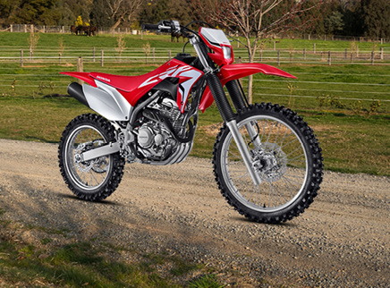 All-New Honda CRF250F Joins Trail Lineup