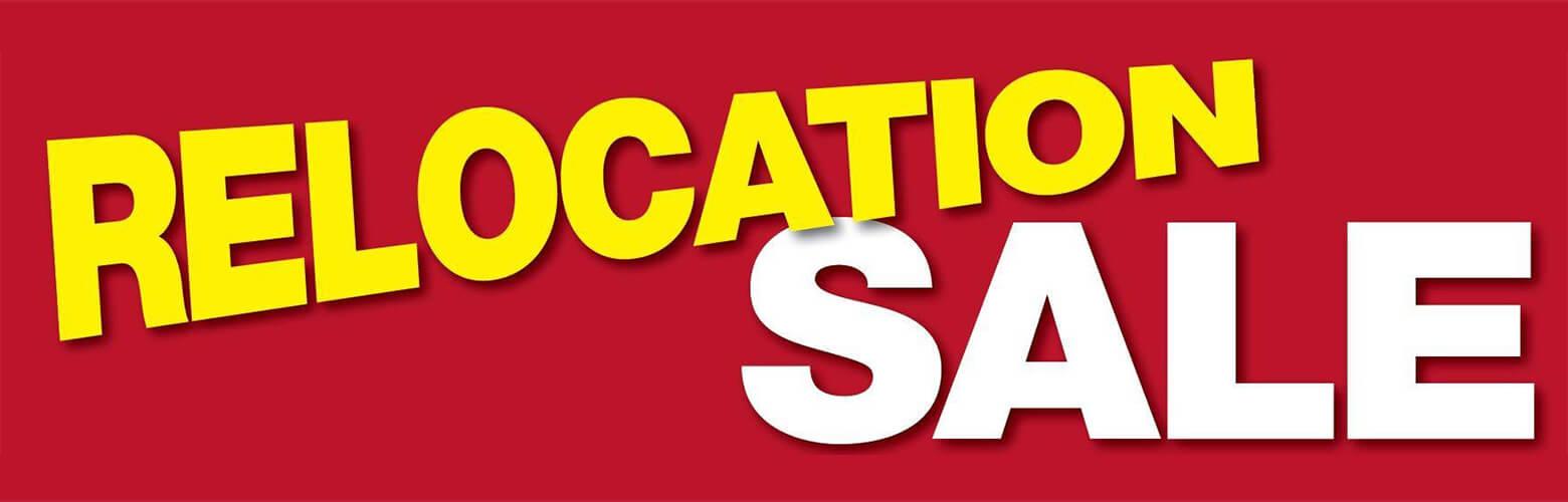Relocation Sale