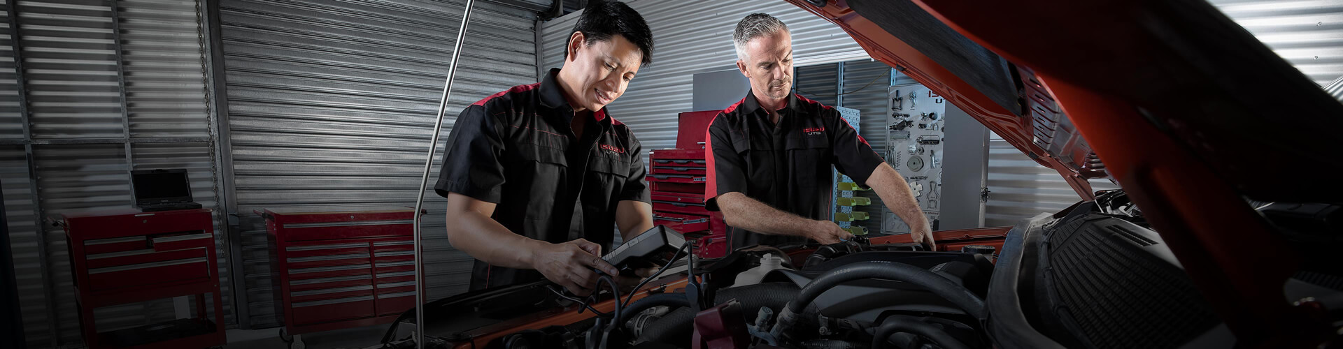 Isuzu UTE Service Plus means peace of mind.