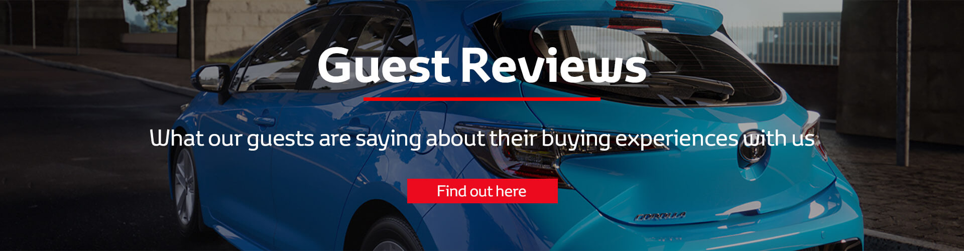 Toyota Guest Reviews