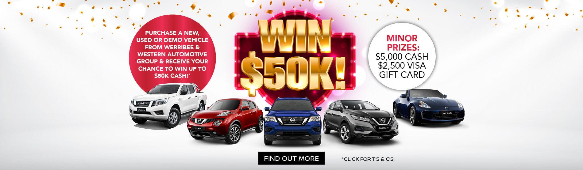 Werribee Nissan - $50K