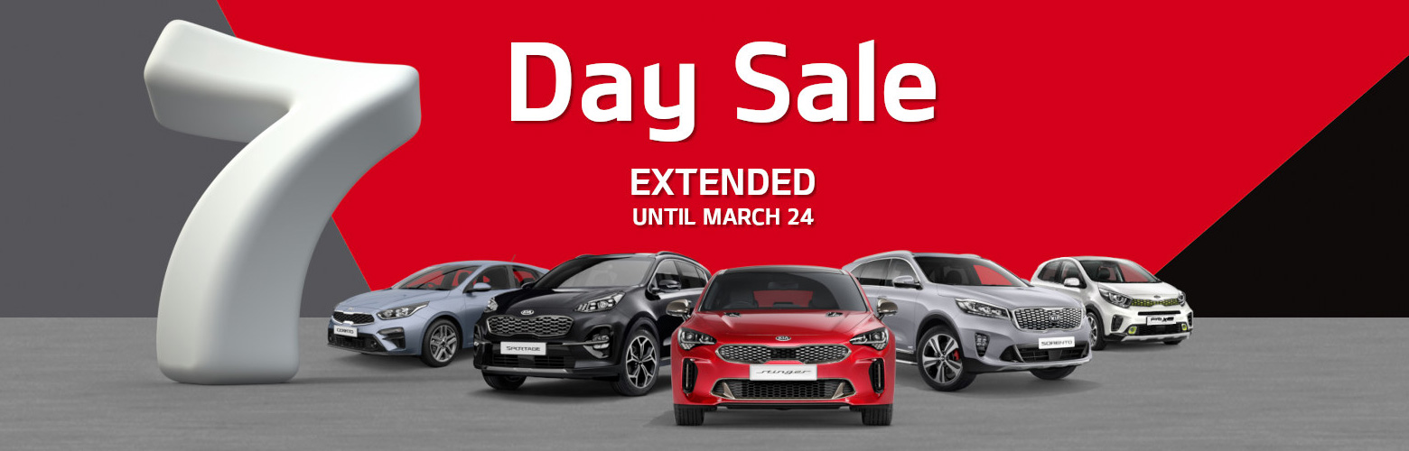 7 Day Sale Extended!