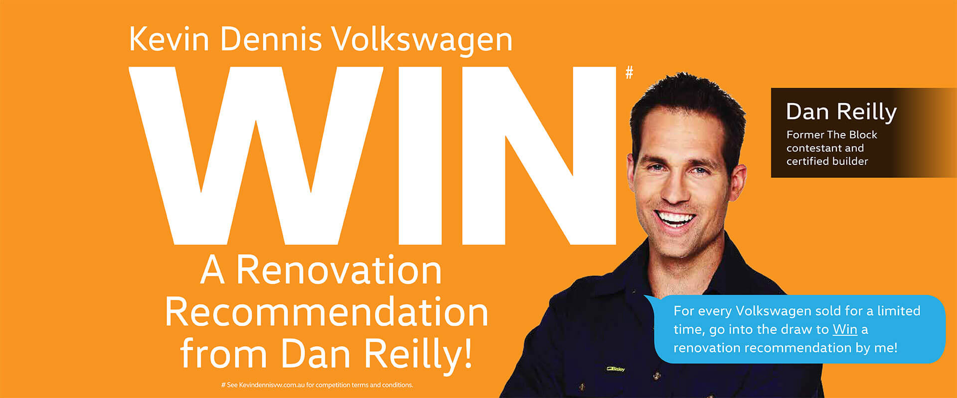 Win a Renovation Recommendation from Dan Reilly