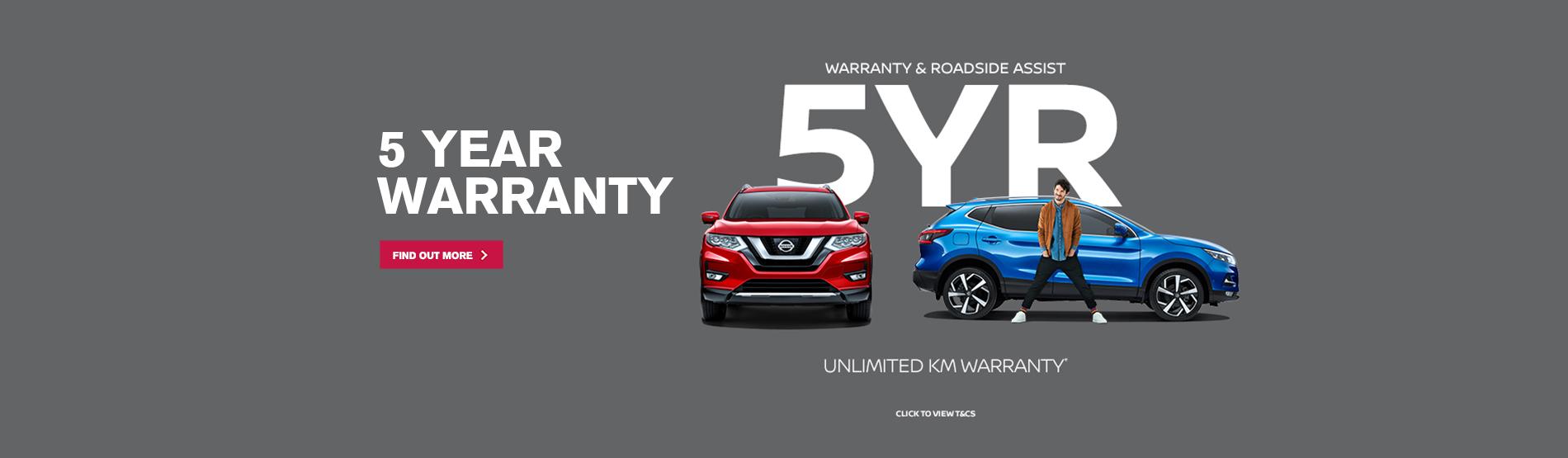 Nissan-HBP-5YR-Warranty